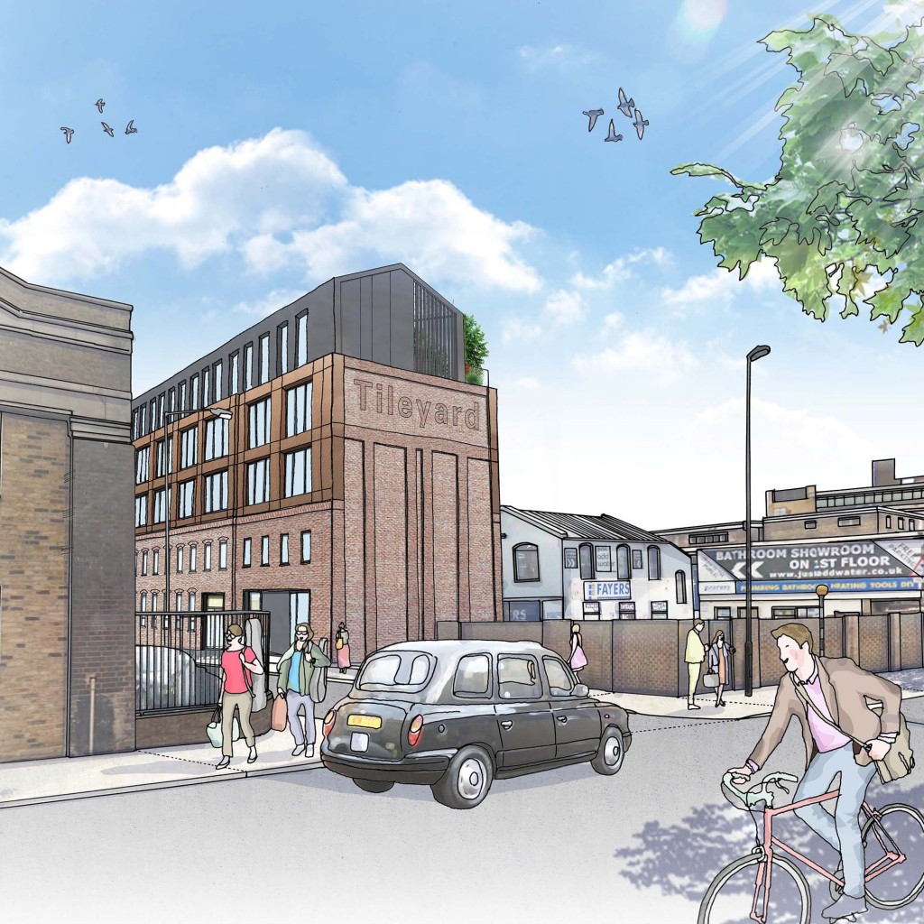 Featured image of article: Tileyard granted Planning Permission