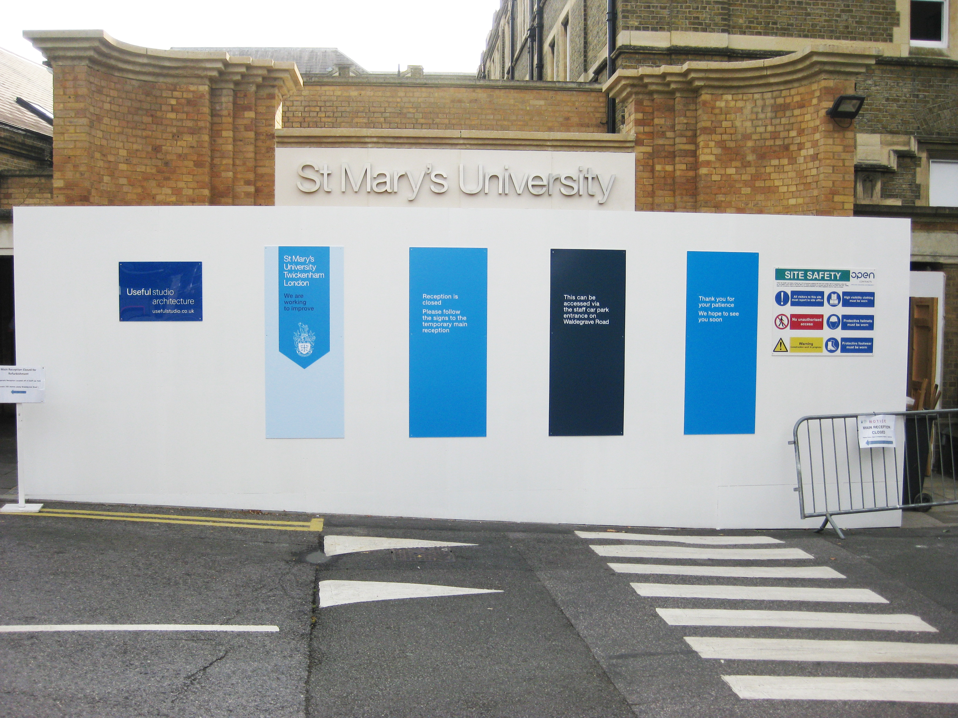 Featured image of article: St Mary's University Reception Starts on Site
