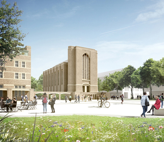 Featured image of article: Landscape Commission for St Mary's University