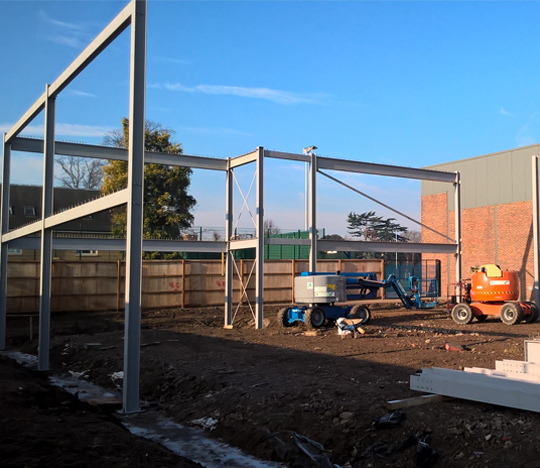 Featured image of article: Isleworth and Syon School out of the ground