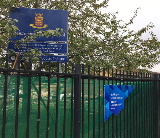 Featured image of article: Groundworks begin at Isleworth & Syon School