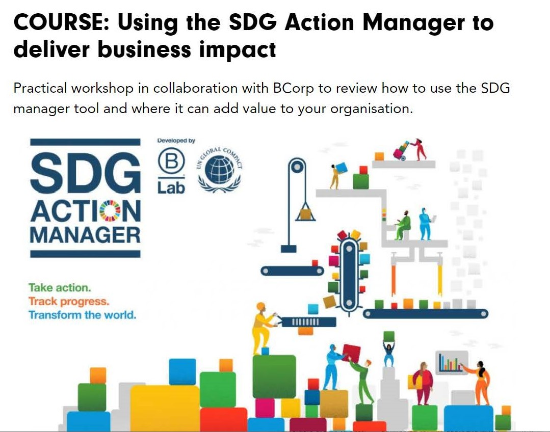 Featured image of article: Catherine joined Chris Brown of Igloo and Anna Hollyman of UKGBC to speak about the SDG Tool